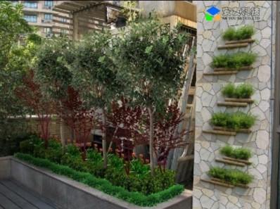 多层次屋顶花园工程设计