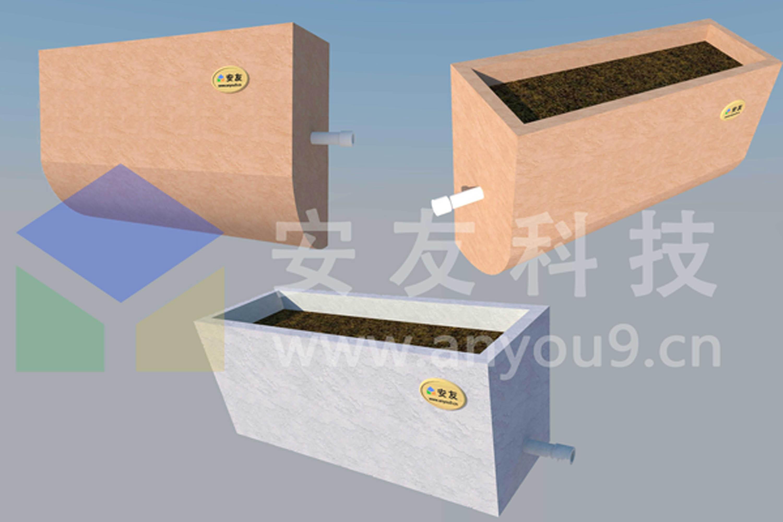 河道种植容器