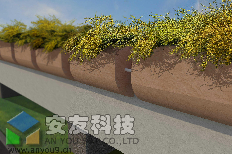 高架桥绿化应用